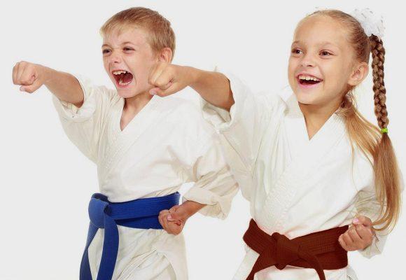 Bambini e Ragazzi cinture BLU-MARRONE